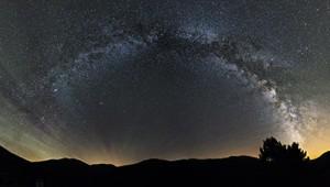 El cielo nocturno del Courel (Courel night sky)