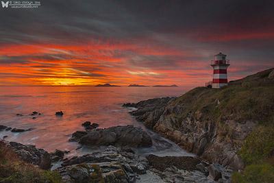 Puesta de sol en la Ría de Vigo, toma 2-Ria de Vigo sunset, shot 2