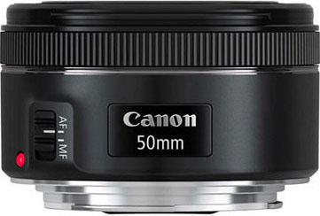 Próximo lanzamiento Canon 50mm 1.8 STM