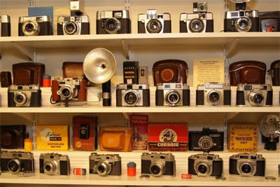 Lote de 600 cámaras de 1880 a 1980 a la venta en e-bay