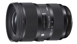 Sigma Art 24-35 mm F2 DG HSM
