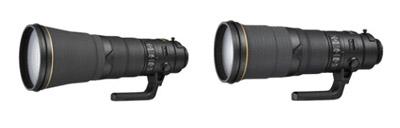 Nikkor AF-S 500mm F4 y 600mm F4 y AF-S DX Nikkor 16-80mm F2.8-4