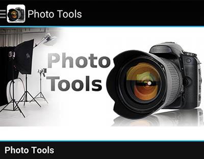 Análisis de Photo Tools, gran app gratuita en Android para el fotógrafo (parte 2/3)