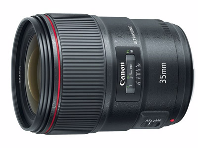 Nuevo objetivo Canon EF 35 mm f/1,4L II USM