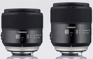 Tamron SP 35mm F/1.8 Di VC USD y SP 45mm F/1.8 Di VC USD