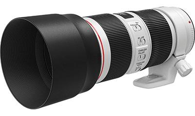 Canon renueva los objetivos 70-200 mm f/2.8 y f/4
